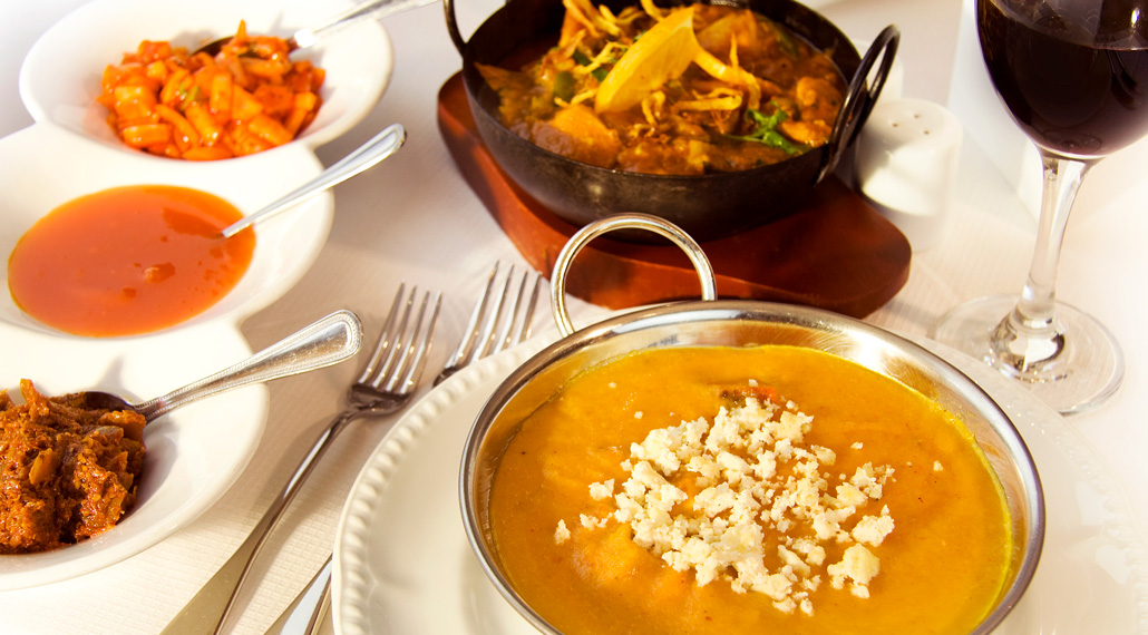 affron Indian Restaurant - Innerleithen near Peebles - Image of some of our lovely dishes