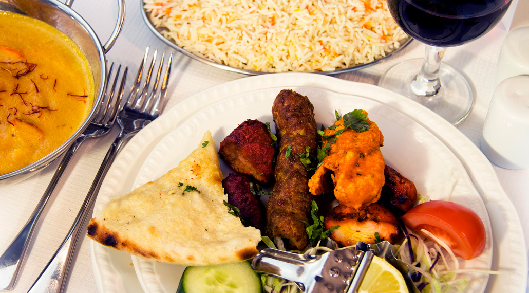 Saffron Indian Restaurant - Innerleithen, Scottish Borders - Image of some of our lovely dishes